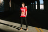 BELLBOY | BIG RED T-SHIRT - RED