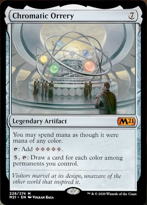 Chromatic Orrery [Core Set 2021] | ProSoul Games