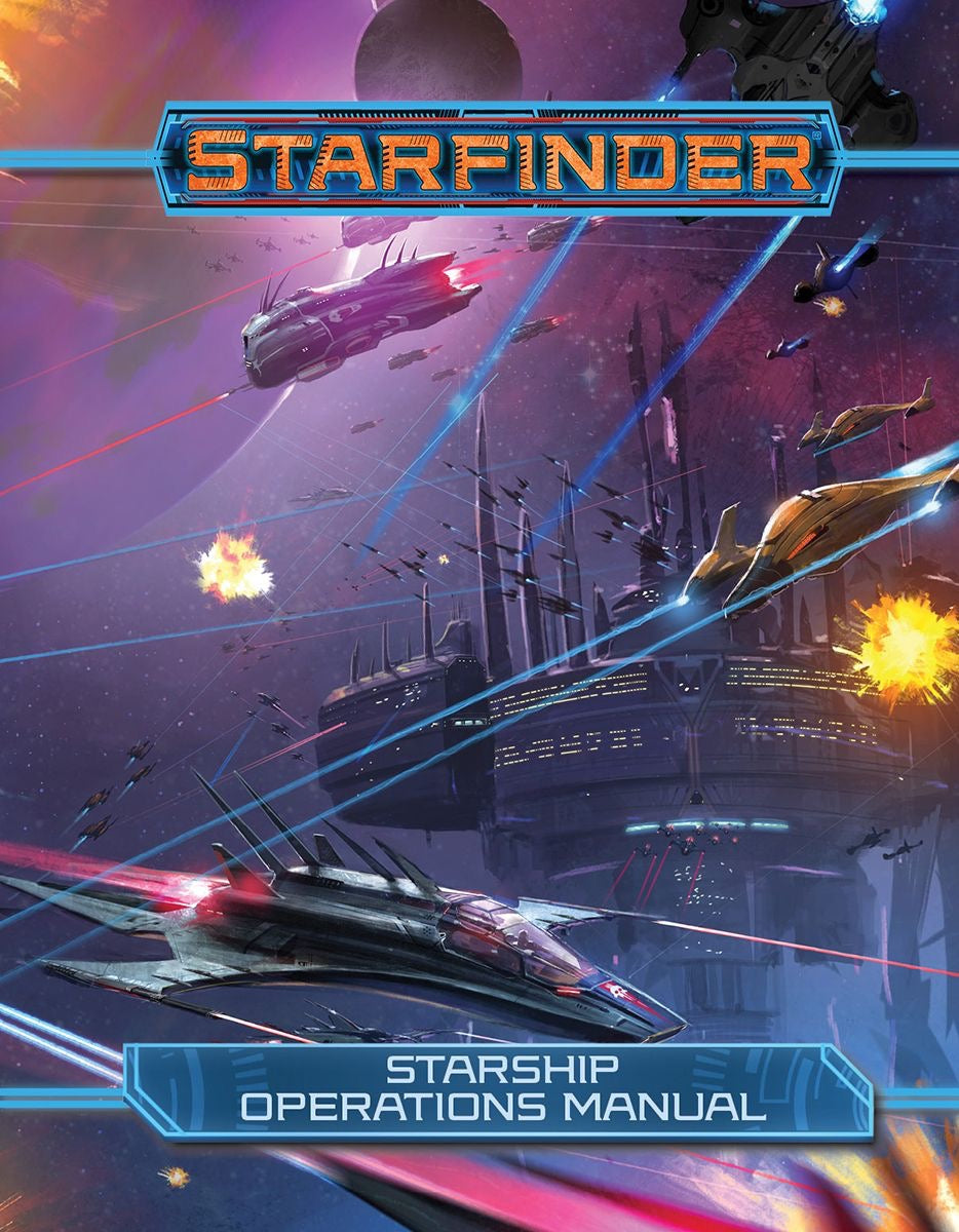 Starfinder: Starship Operations Manual | ProSoul Games