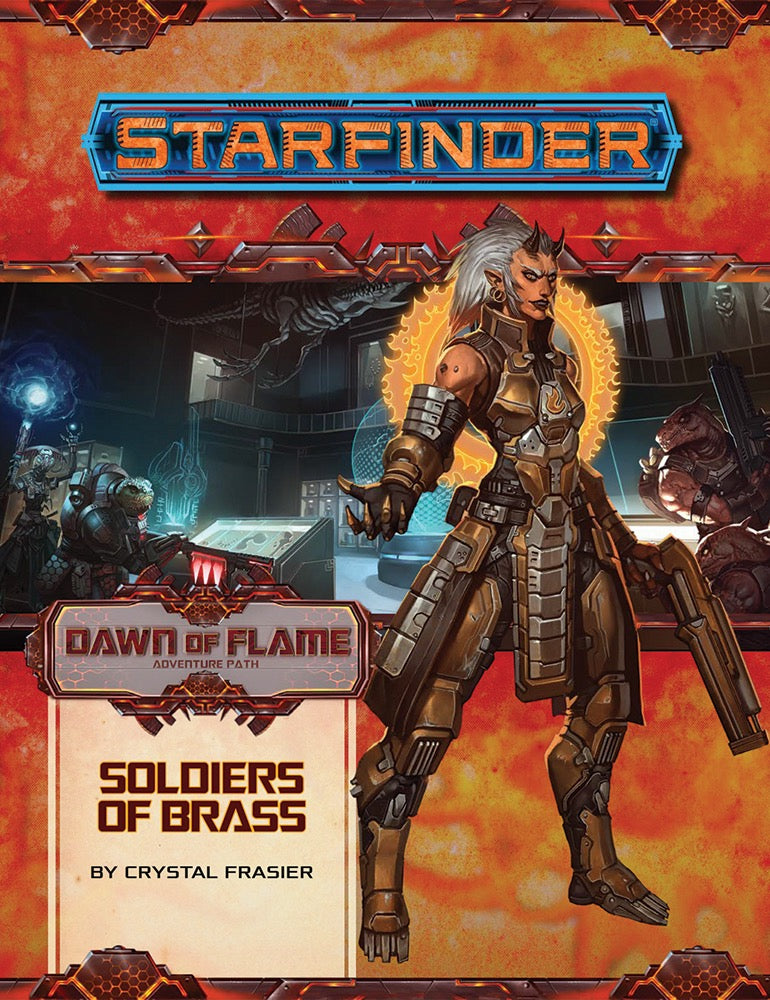 Starfinder Adventure Path - Dawn of Flame - Soldiers of Brass - 2 of 6 | ProSoul Games