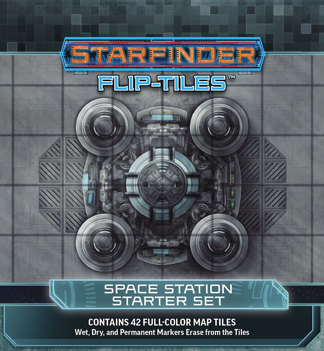 Starfinder Flip-Tiles: Space Station Starter Set | ProSoul Games