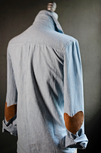 *Limited Edition* Chambray with Elbow Patch