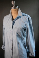 Load image into Gallery viewer, *Limited Edition* Chambray with Elbow Patch