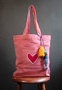 "The Shopper ""With Love"" Bag"