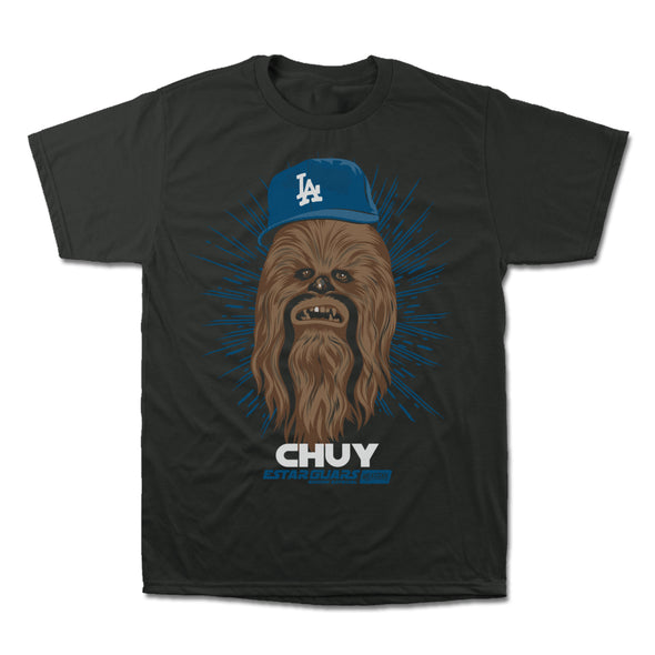 Chuy LA dodgers tee that is star wars themed
