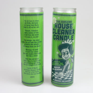 House Cleaner Prayer Candle