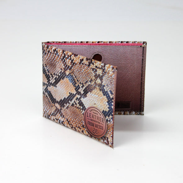 Authentic Faux Leather Paper Wallet