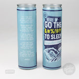 Go the F@#% to Sleep Candle