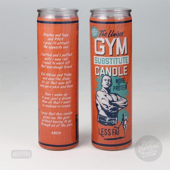 Gym Replacement Prayer Candle