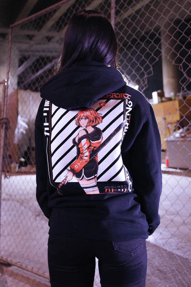 Anime Clothing x Streetwear - WATCH ME HOODIE at Catori Clothing
