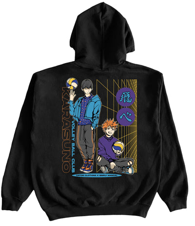 Anime Clothing x Streetwear - Volleyball HOODIE at Catori Clothing