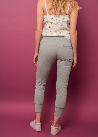 LUX JOGGERS - HEATHER GREY - Shop Sincerely Jules