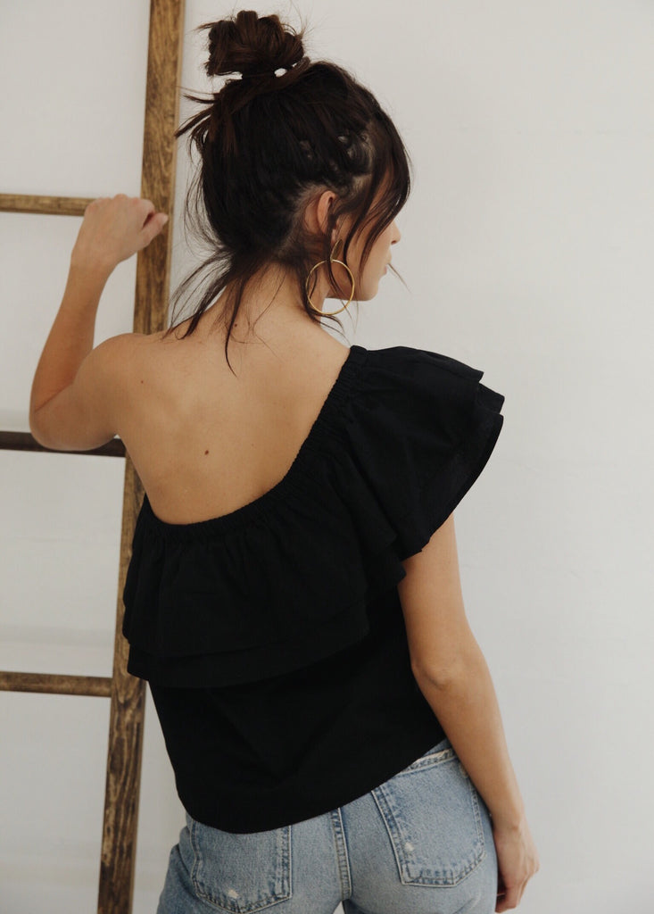 EVERLY TOP - BLACK