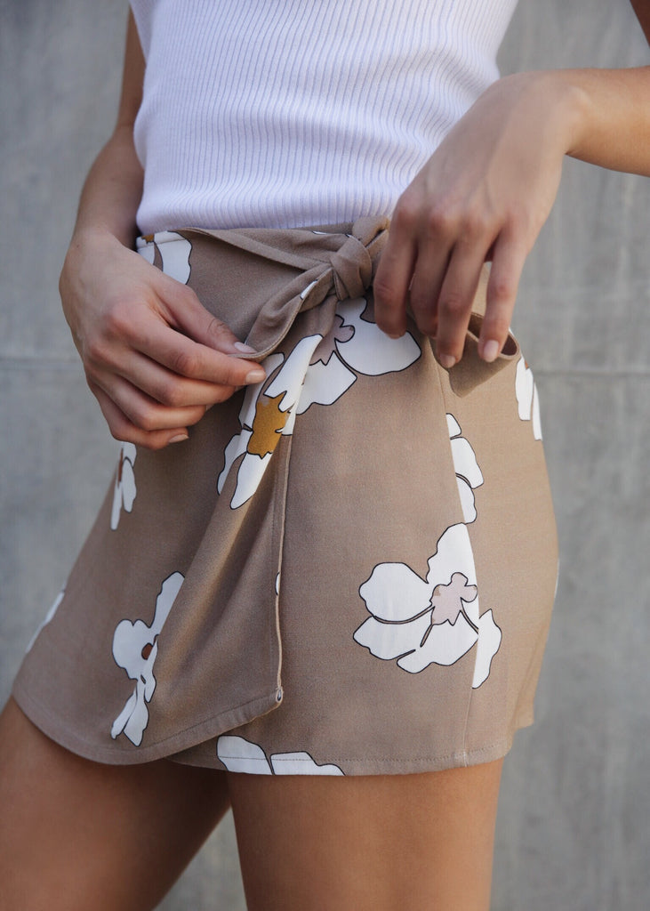 CARLY WRAP SKIRT