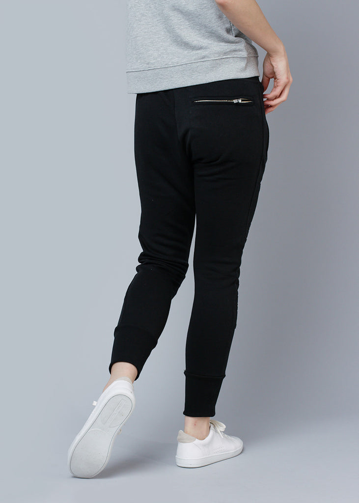 LUX JOGGERS - WASHED BLACK