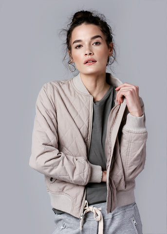 GIRL BOMBER JACKET