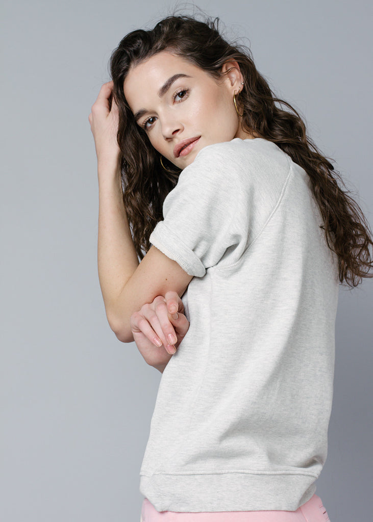 CARA SWEATSHIRT - SNOW