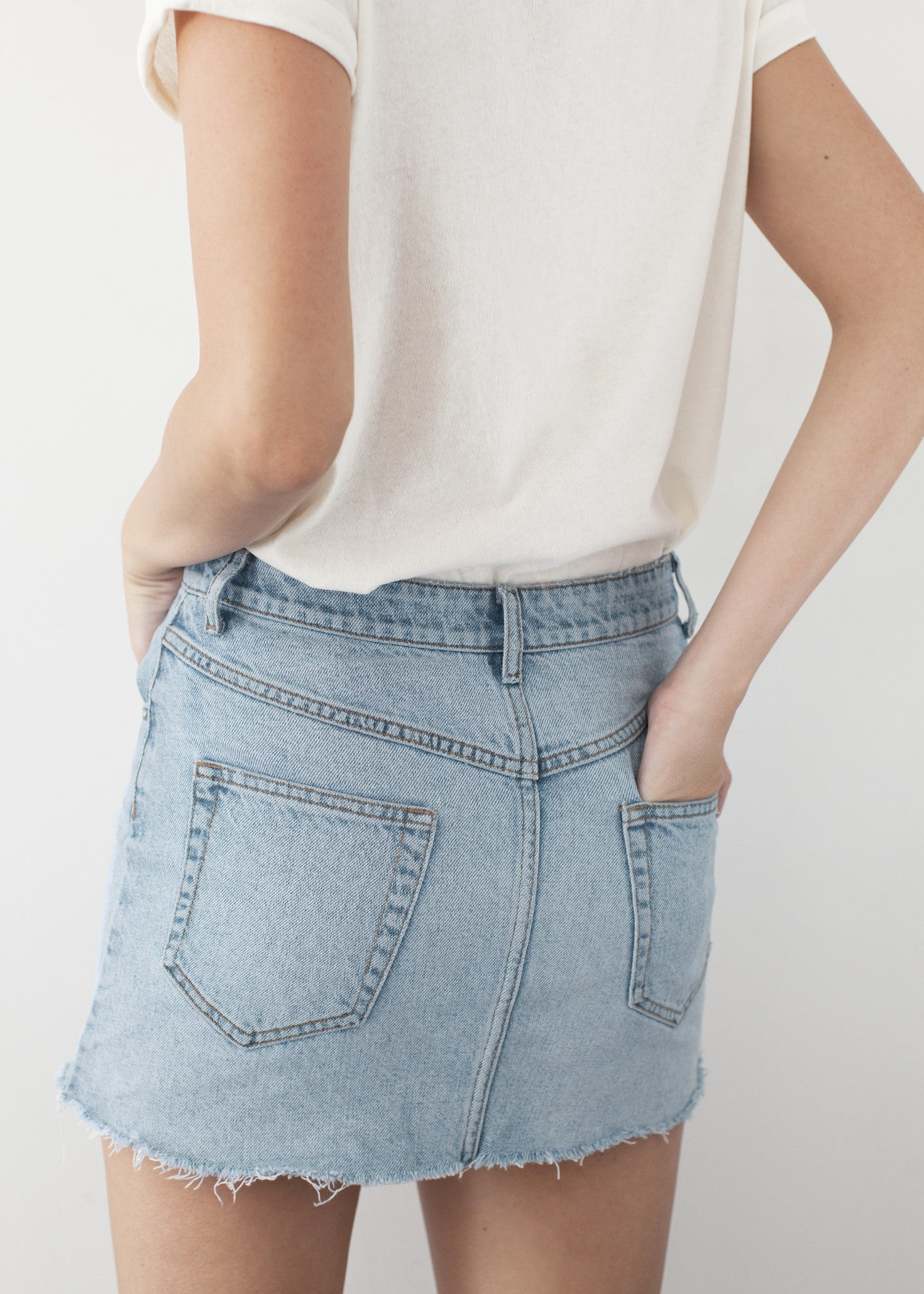 DIXIE DENIM SKIRT