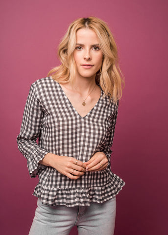 POSIE GINGHAM TOP - Shop Sincerely Jules