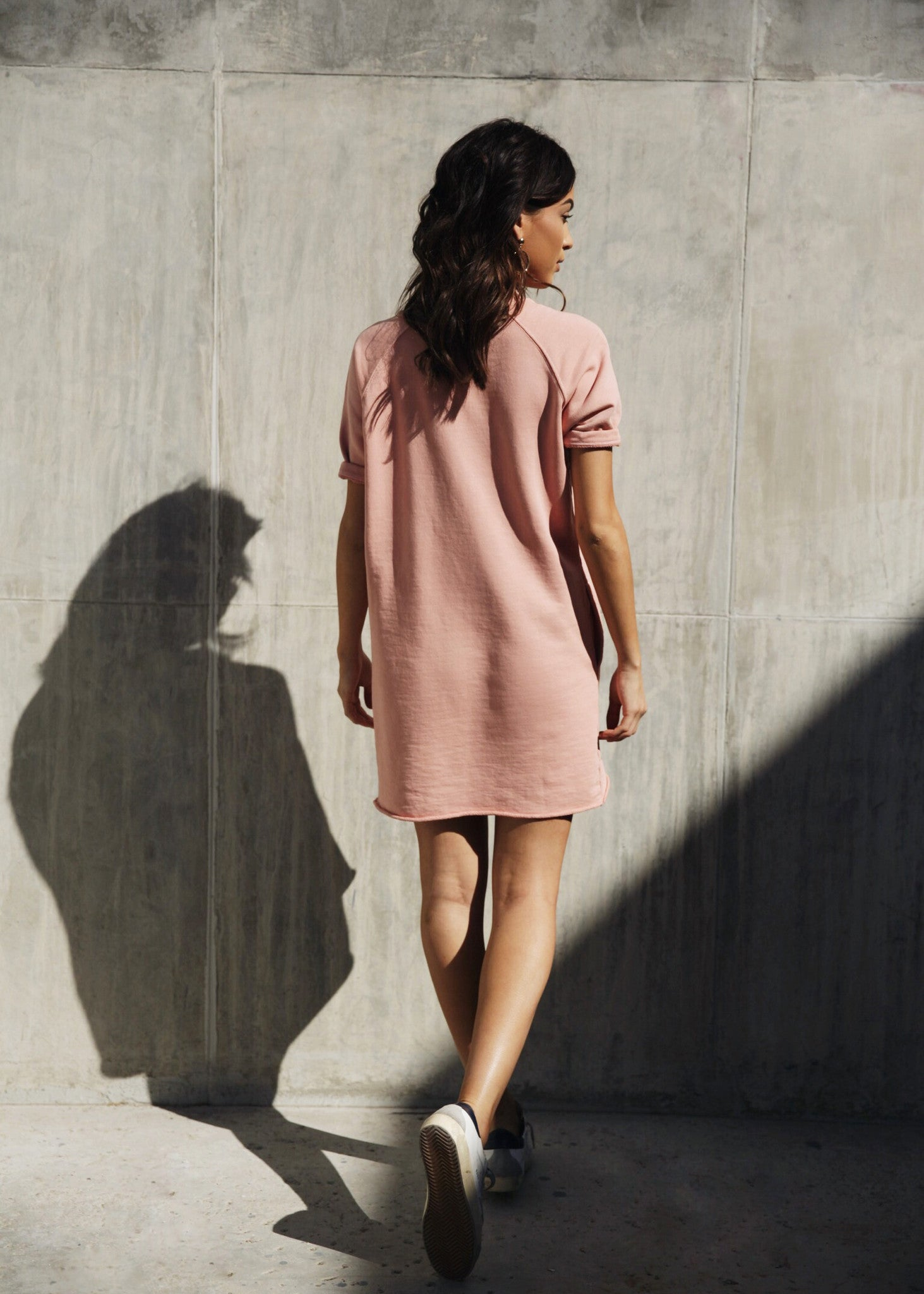CARA DRESS - ROSE