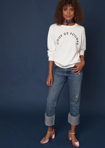LOVE AT FIRST SIGHT SWEATSHIRT - Shop Sincerely Jules
