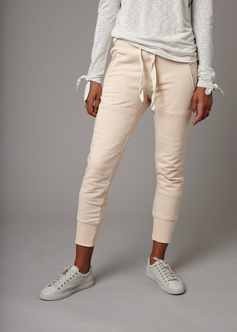 LUX JOGGERS - BLUSH - Shop Sincerely Jules