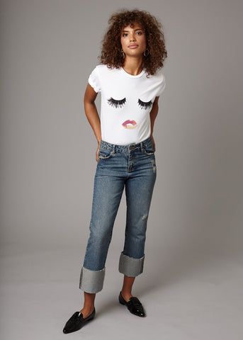 LIPS & LASHES TEE