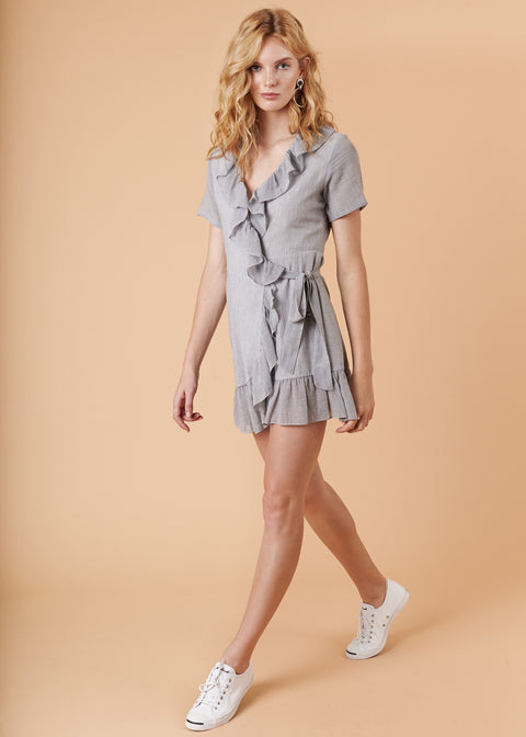 DOLLY WRAP DRESS