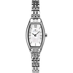 Accurist LB1282PX Ladies White Stainless Steel Watch