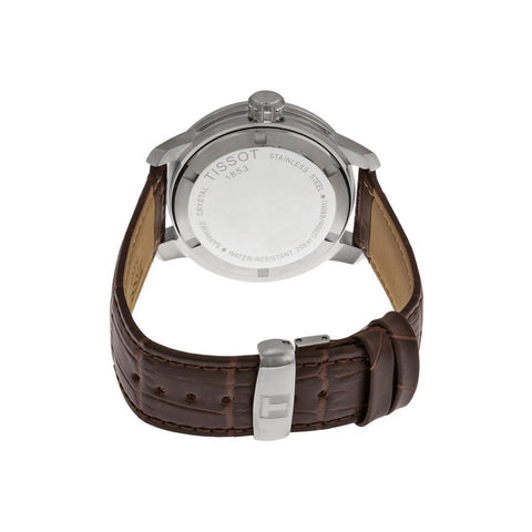Men's PRC 200 Brown Leather Quartz Tissot Watch T055.410.16.037.00