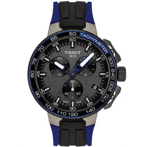 Men's Dark Blue T-Race Cycling Chronograph Tissot Watch T111.417.37.441.06