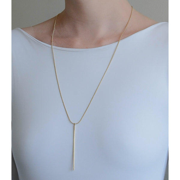 <transcy>Vertical Bobô Necklace - Unisex</transcy>