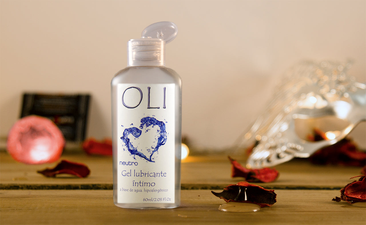 OLI Gel Lubricante Intimo Neutro a base de agua 60 ml