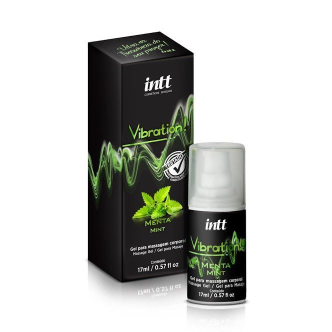 Innt Vibration - Gel Electrizante - Menta