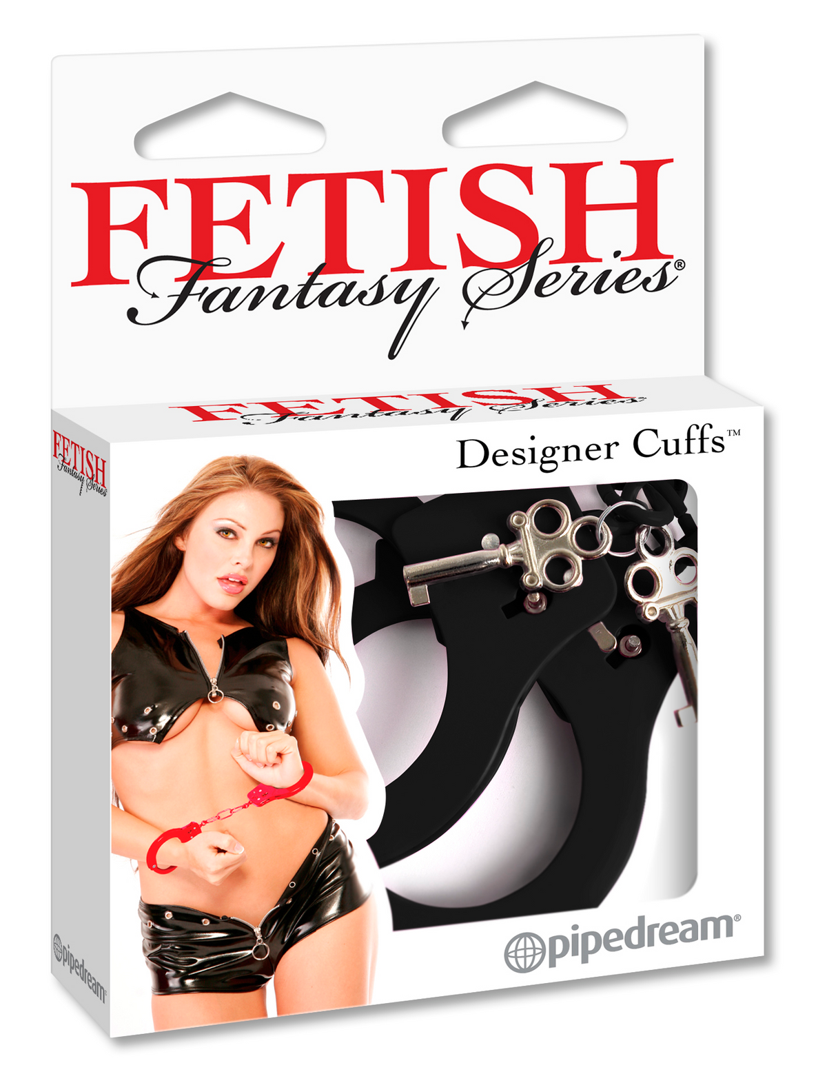 Fetish Fantasy Series Designer Esposas de Metal Negras