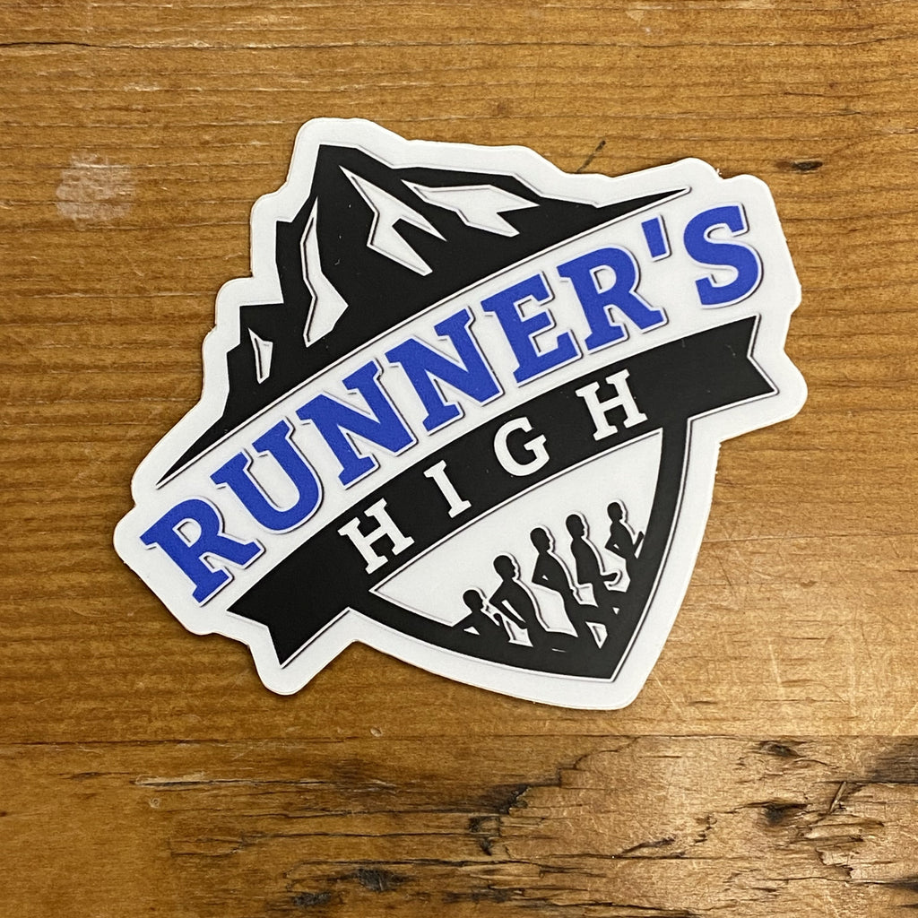 RUNNER'S HIGH LOGO STICKER