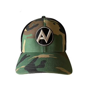 New Fitted Camo Trucker