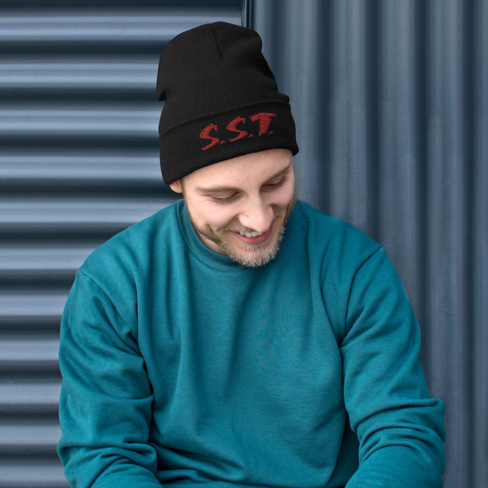 SST Embroidered Beanie