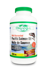 Organika Salmon Oil - 300 Caps