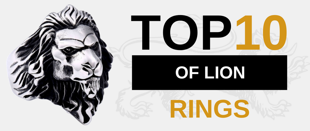 TOP 10 Lion Rings