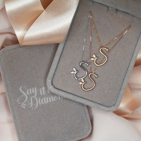 gold-silver-jewellery-initial-necklaces