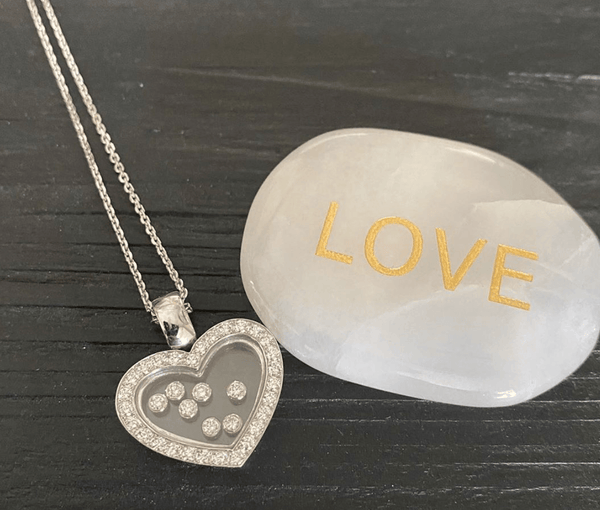 18ct Lots Of Love Necklace - SayItWithDiamonds.com