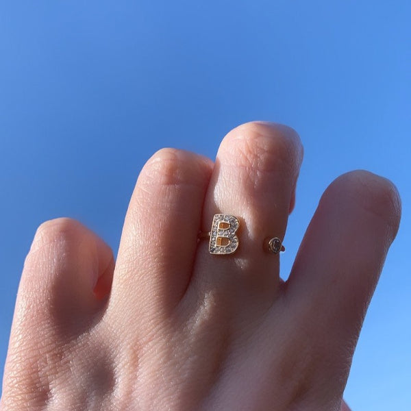 Me and Mine Ring - Sterling Silver 18ct Gold Plated