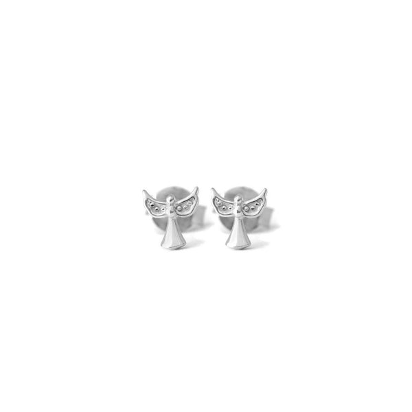 Angel Earrings - Sterling Silver - SayItWithDiamonds.com