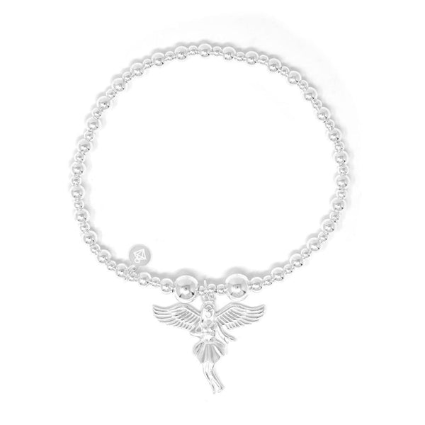 Angel of Dreams Sterling Silver Bracelet - SayItWithDiamonds.com