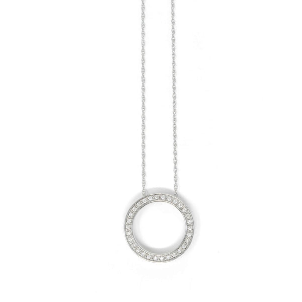 Circle of Life 9ct White Gold - SayItWithDiamonds.com