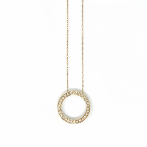 Circle of Life 9ct Yellow Gold - SayItWithDiamonds.com