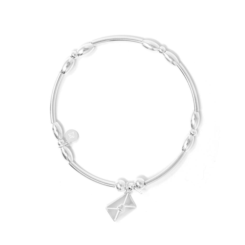 Love Notes Sterling Silver Ball Bracelet - SayItWithDiamonds.com