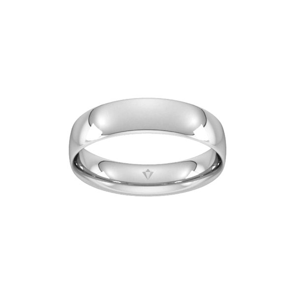 Men's Edit 5mm Wedding Band - SayItWithDiamonds.com