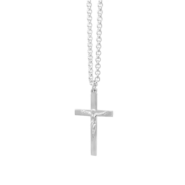 Men's Edit Midi Crucifix Pendant - SayItWithDiamonds.com